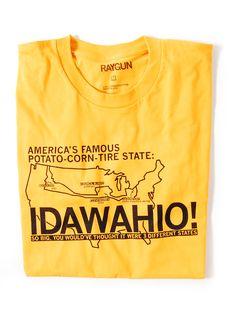 Idawahio! by raygun: Hell Yes!  #T_Shirt #raygun #idawahio