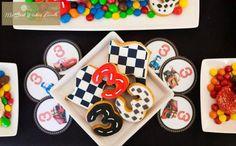 Disney Cars Party via Kara's Party Ideas | Kara'sPartyIdeas.com #Disney #RaceCar #Party #Idea #mybestwishes (25) Car Themed Parties, Cars Birthday Parties, Birthday Ideas, Disney Cars Party, Disney Cars Birthday, Racing Cake, Hot Wheels Birthday, Party Ideas, Theme Ideas