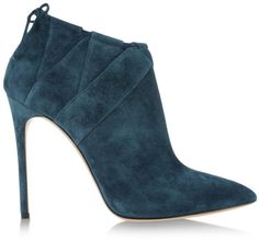 Casadei Ankle Boots in Blue (Deep jade)