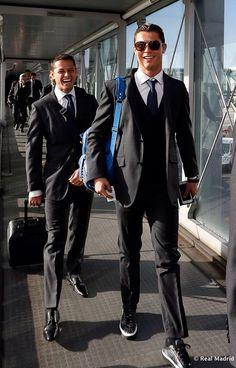 Javier Hernández & Cristiano Ronaldo