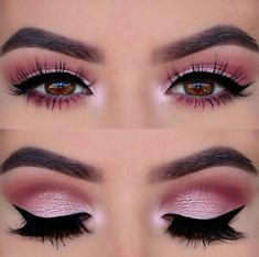 Perfect pink eye makeup !! ❤️❤️❤️