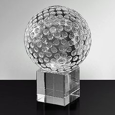 """Famous Words of Inspiration...""""In love the paradox occurs that two beings become one and yet remain two.""""   Erich Fromm — Click here for more from Erich... more details available at https://perfect-gifts.bestselleroutlets.com/gifts-for-pets/for-dogs/product-review-for-clear-crystal-golf-ball-wcrystal-stand-decorative-gift/"""
