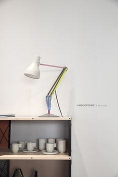 Anglepoise® Type 75 Paul Smith Edition at Euroluce 2015, presented by Cereal Magazine.