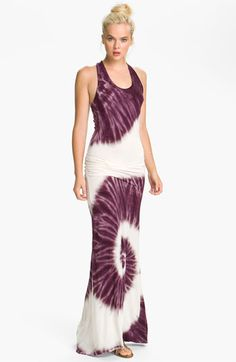 Young, Fabulous & Broke 'Hamptons' Tie Dye Maxi Dress available at #Nordstrom