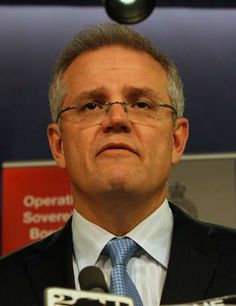 Immigration Minister Scott Morrison The contempt of the Abbott Government for Australian Voters has sunk to unbelievable low levels. Scott Morrison's arrogance and petulance is beyond belief. We must go back to a decent and believable Government and toss to the bin the Coalition of Abbott/Murdoch/IPA. An organisation of evil machinationsAbbott/Murdoch/IPA.   http://www.smh.com.au/federal-politics/political-news/morrison-retreats-from-media-on-asylum-seekers-20131227-2zzsw.html.