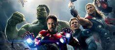 #Avengers una de las películas mas exitosas del 2015  #Ironman #Hulk #CaptainAmerica #Thor #BlackWidow