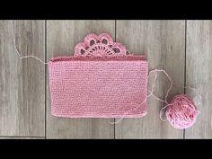 Crochet Bags, Crochet Top, Crochet Bookmarks, Crochet Videos, Knitting Stitches, Bag Making, Diy Bags, Diy And Crafts, Crochet Patterns