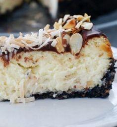 Almond Coconut Cheesecake