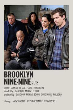 Alternative Minimalist Movie/Show Poster – Brooklyn 99 Iconic Movie Posters, Minimal Movie Posters, Minimal Poster, Iconic Movies, Movie Poster Art, Film Polaroid, Polaroids, Poster Print, Poster Wall