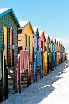 Beach Huts On Muizenburg Beach, Cape Town, South Africa Mauritius, Places To Travel, Places To See, Garden Route, Cape Town South Africa, African Countries, Africa Travel, Beach Trip, Photos