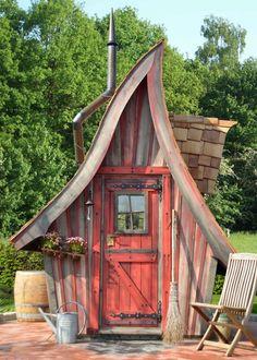 Gartenhaus Buck inkl. Rotzeder-Schindeln Gerätehaus Buck inkl. Rotzeder-Schindeln, Red Ceruse Anstrichtechnik