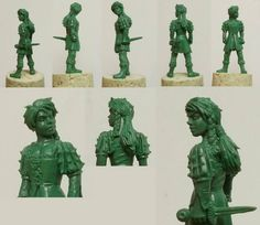 * GRAF'S DAUGHTERS   WKM-80: Graf's Daughters (2)  (sculpted by Mark Evans) What you get: 2 Human Girls. No bases included.   What you pay: £8 Image