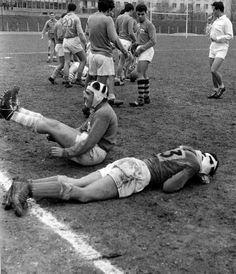 Rugby 1959 |¤ Robert Doisneau | 18 août 2015 | Atelier Robert Doisneau | Site officiel