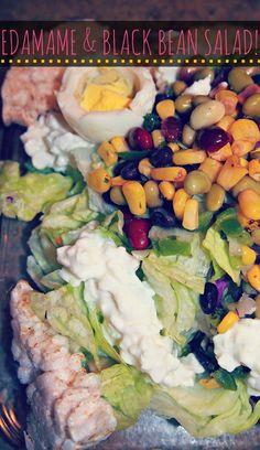 Edamame & Black Bean Salad!