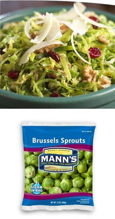 Brussels Sprouts Slaw | Veggies Made Easy