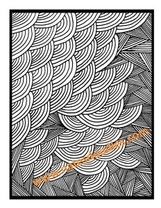 Line and Shape Coloring Book - Nate's Doodles