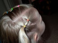 Shaunell's Hair: Little Girl's Hairstyles -Small puffy braid 5 min