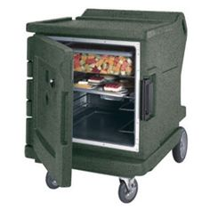 """Cambro CMBHC1826LTR 31"""" Half-Height Hot/Cold Food Holding Cabinet w/ Security - Camtherm by Cambro. $6514.99. The 31"""" Half-Height Camtherm Hot/Cold Food Holding Cabinet from Cambro is a uniquely designed to be the ultimate food holding cabinet for caterers because of its versatility as both an insulated food transport carrier and a food warming or cooling cabinet. This cabinet features both an electric heating and cooling element on the back that will warm or cool the fo..."""