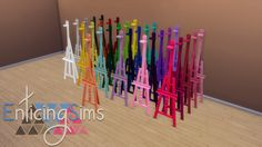 EZ Easel Recolors. I honestly don't know why easels don't come in more colors, but now they do! - $150 - 31 Colors My TOU Download || DonateAs always, enjoy and happy simming ♥ Consider this a...