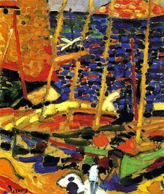 André Derain - The Port of Collioure 1906