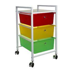 Briscoes - Vivo 3 Drawer $35 Plastic Drawers, Kitchen Cart, Storage Cabinets, Bathroom Storage, Getting Organized, Storage Solutions, Stuff To Buy, Shopping, Furniture