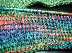 Tunisian crochet - must learn how.