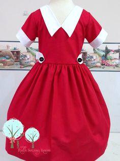 Little orphan annie inspired dress disney vacation dress girls