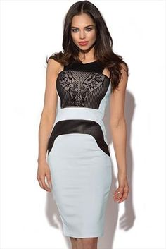 Just had to pin this Leatherette Flock Midi Dress from www.vestryonline.com/