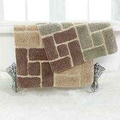 Chesapeake Berkeley Bath Rugs - Set of 2 - 44700
