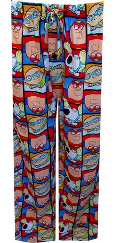 WebUndies.com Family Guy Favorite Masked Characters Lounge Pants