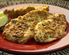 Indiai fűszeres csirkemell recept