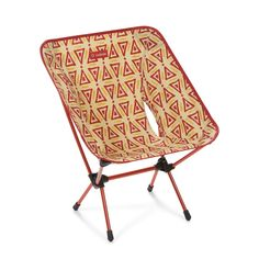 Chair One Red Triangle Camping Chairs, Outdoor Camping, Chair One, Beach Chairs, Rv Living, Aluminium, Triangle, Backpacking Trips, Music Festivals