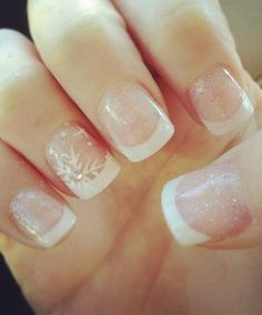 As symbols of the winter season, snowflake nail art are wonderful now and can instantly make a regular manicure look like a work of art. Take a look at these Cool Snowflake Nail Art Designs for inspiration. Winter Wedding Nails, Winter Nail Art, Winter Nail Designs, Cute Nail Designs, Winter Nails, Snow Nails, Pretty Designs, Spring Nails, Love Nails