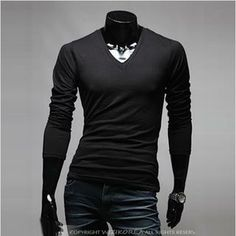 Buy 'WIZIKOREA – V-neck Long Sleeve T-Shirt' with Free International Shipping at YesStyle.com. Browse and shop for thousands of Asian fashion items from South Korea and more!