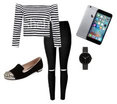 """""""Stripes"""" by shamelesslymaya on Polyvore featuring Miu Miu, I Love Ugly, women's clothing, women, female, woman, misses and juniors"""