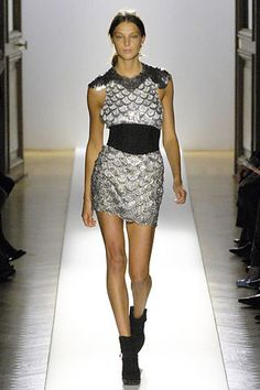 Balmain Fall 2007 Ready-to-Wear Fashion Show - Daria Werbowy