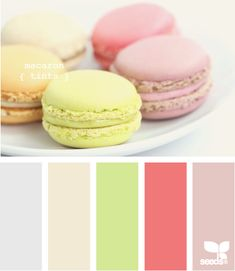 macaron tints - if I was going to have another baby (which I'm not) this would be the nursery palette