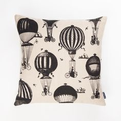 Chase and Wonder - Balloon Bikes Cushion, £54.99 (http://www.chaseandwonder.com/balloon-bikes-cushion/)