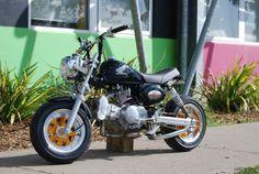 Honda Z50JZ #Honda Monkey #Z50