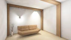 Ο τονισμός των δοκαριών και των υποστυλωμάτων κατακερματίζουν χωρίς λόγο τον χώρο. 12 λάθη στην επιλογή χρωμάτων κατοικίας και επαγγελματικού χώρου – Designing for Happiness Oversized Mirror, Fails, Divider, Room, Furniture, Home Decor, Bedroom, Rooms, Interior Design