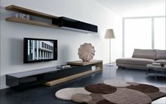 salon de design intéressant et moderne