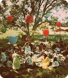 lovely Picknick so collorfull!