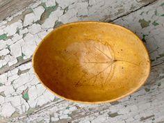 Maple Leaf Primitive Pottery // Nature Maple Leaf Pottery //