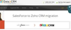 Migrate your leads, contacts, accounts, opportunities, tasks from Salesforce to Zoho in a fully automated way.