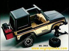 1980 Tonka Toys Mighty Tonka Trucks