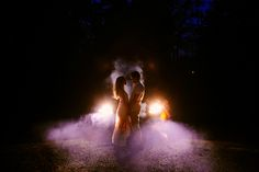 Natalie + Jeremie // Waterfall Engagement Session // Smoke Bombs   NYC/Upstate Wedding Photographer Spanglish Studios