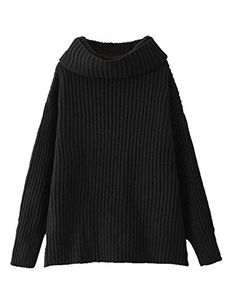 S.FLAVOR Women Casual Turtleneck Baggy Loose Style Cotton... https://www.amazon.com/dp/B0756XK4JB/ref=cm_sw_r_pi_dp_x_T5d2zbEABAKHZ