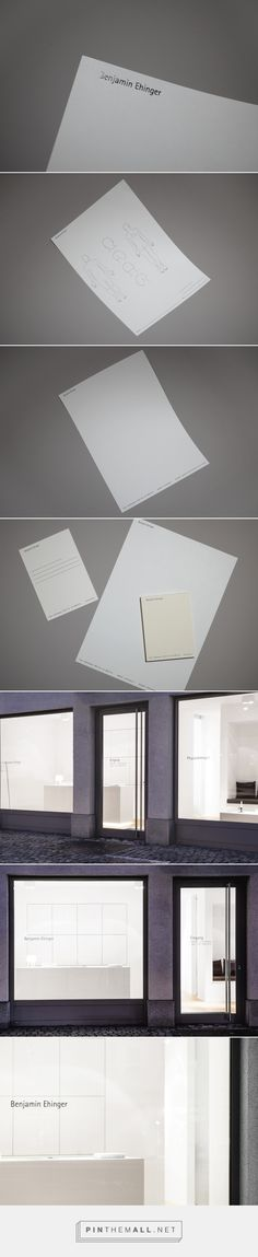 Benjamin Ehinger - Corporate identity, signage system - A.Stein - created via https://pinthemall.net