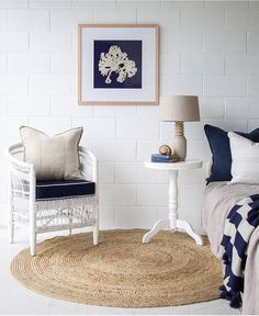 Fresh & Nautical beach house inspo with our Luca Series cushions available online now at www.eadielifestyle.com.au