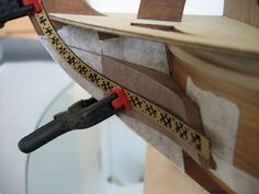 The Construction Of The San Felipe Ballustrading And Side Rails Model Ship Building, Decorative Mouldings, Model Ships, Miniatures, Carving, Construction, Models, Collections, Pearls